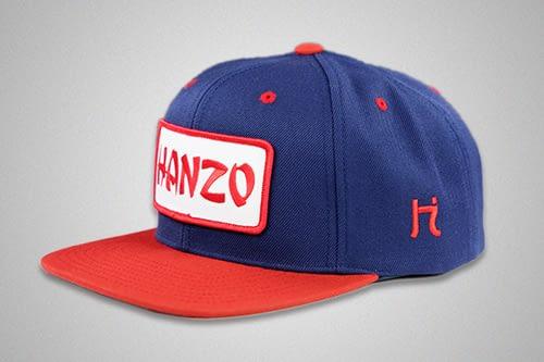Hanzo Blue Red Snapback